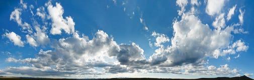 Panorama di XXL Cloudscape Fotografie Stock