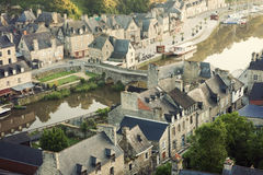 Panorama of Dinan Stock Photos