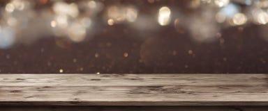 Panorama dla świątecznej okazi Obraz Royalty Free
