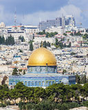 Panorama do al-Aqsa Fotografia de Stock Royalty Free