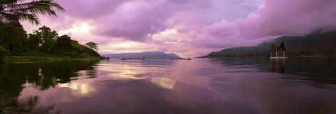 Panorama do amanhecer. Foto de Stock Royalty Free