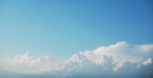 Panorama do céu Fotos de Stock Royalty Free