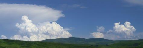 Panorama do céu Foto de Stock