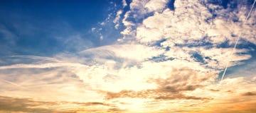 Panorama 38 do céu imagem de stock royalty free