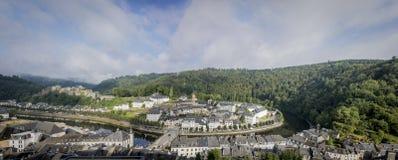 Panorama do caldo fotografia de stock royalty free