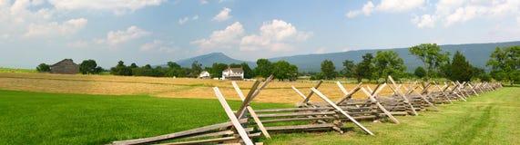 Panorama do campo de batalha de NewMarket Imagens de Stock Royalty Free
