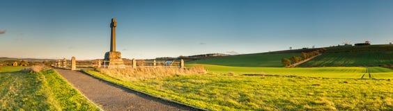 Panorama do campo de Flodden Imagem de Stock