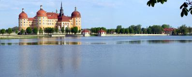 Panorama do castelo Foto de Stock