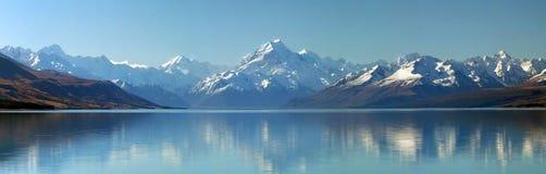 Panorama do cozinheiro da montagem, Nova Zelândia Imagens de Stock