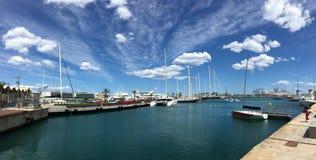 Panorama do de Valência do porto foto de stock