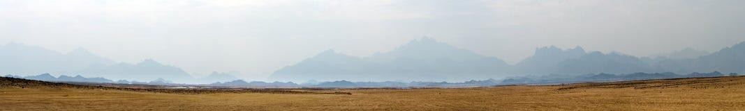 Panorama do deserto foto de stock