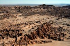 Panorama do deserto em Atacama o Chile fotos de stock royalty free