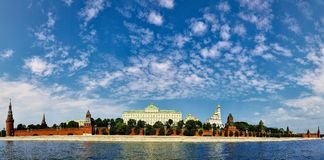 Panorama do Kremlin Fotos de Stock Royalty Free