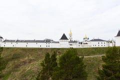 Panorama do Kremlin de Tobolsk Fotografia de Stock