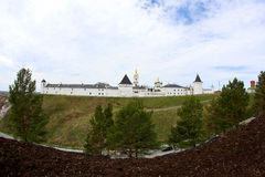 Panorama do Kremlin de Tobolsk Imagens de Stock