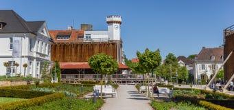 Panorama do Kurpark em Salzuflen mau imagem de stock royalty free