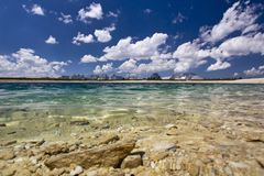 Panorama do lago Foto de Stock Royalty Free