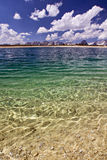 Panorama do lago Fotografia de Stock Royalty Free