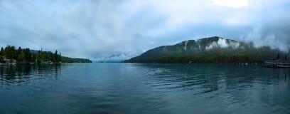 Panorama do lago George, NY Foto de Stock Royalty Free