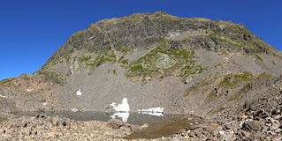Panorama do lago mountain Foto de Stock Royalty Free