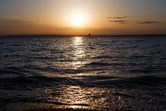 Panorama do mar Foto de Stock