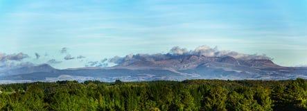 Panorama do Massif Central imagens de stock royalty free