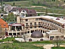 Panorama do megohm do ¼ de SÃ Uma da vista a mais bonita em Hungria imagem de stock royalty free