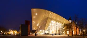Panorama do museu de Stedelijk Fotografia de Stock Royalty Free