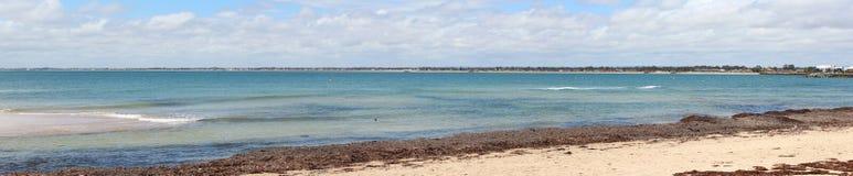 Panorama do Oceano Índico em Mandurah Austrália ocidental foto de stock royalty free