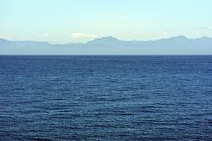 Panorama do oceano Imagens de Stock Royalty Free