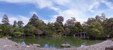 Panorama do palácio imperial da lagoa Fotografia de Stock