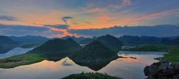 Panorama do pantanal Imagens de Stock Royalty Free