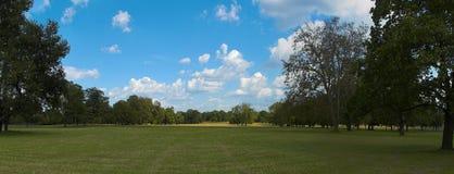 Panorama do parque Fotografia de Stock Royalty Free