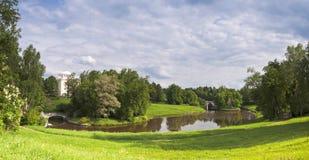 Panorama do parque Imagens de Stock