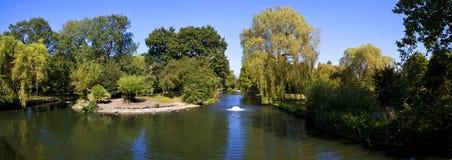Panorama do parque do regente Fotografia de Stock