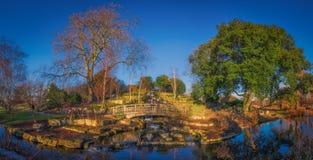Panorama do parque dos regentes Imagens de Stock
