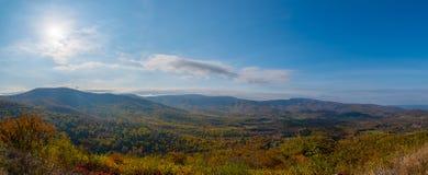 Panorama do parque nacional de Shenandoah Imagem de Stock