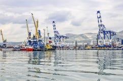 Panorama do porto Foto de Stock Royalty Free
