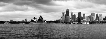 Panorama do porto de Sydney Foto de Stock