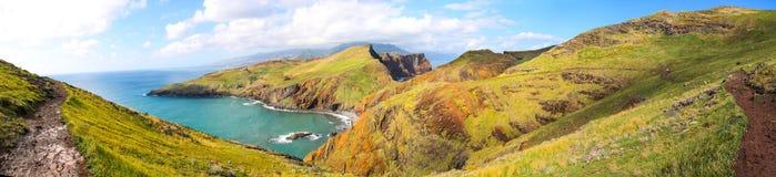 Panorama do Sao Lourenco, Madeira foto de stock