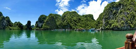 Panorama do Seascape Fotografia de Stock Royalty Free