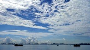 Panorama do Seascape Imagem de Stock