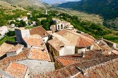 Panorama do telhado Fotografia de Stock