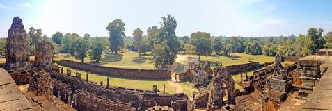 Panorama do templo Camboja de Ta Keo Fotos de Stock Royalty Free