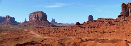 Panorama do vale do monumento Fotos de Stock