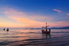 Panorama do verão de Pattaya em Tailândia Imagens de Stock