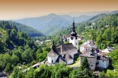 Panorama in dolina di Spania Fotografie Stock Libere da Diritti