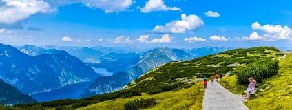 Panorama dolomit góry Włochy zdjęcie stock