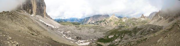 Panorama Dolomites. Italy Stock Photo