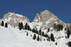 Panorama of Dolomiti Alps (Italy) Stock Image